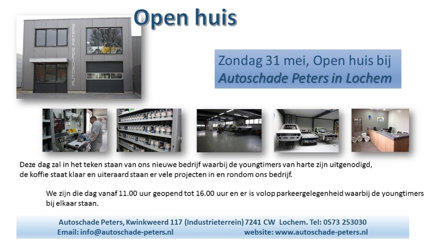 Open huis Erwin Peters